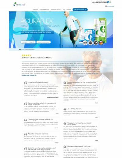 Acuraflex.com - customer reviews