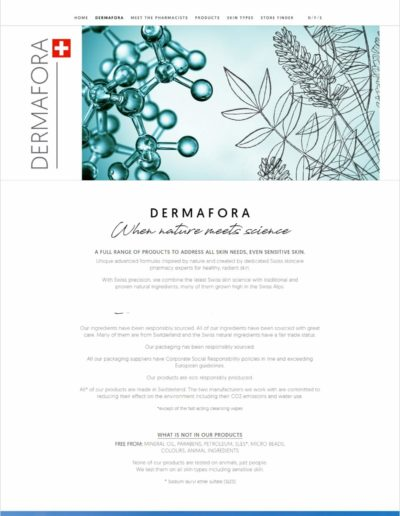 Dermafora.ch About